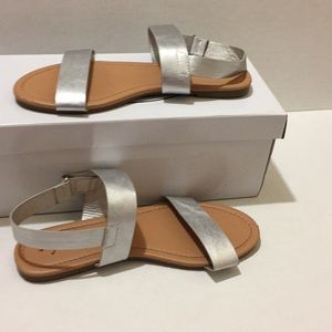 Fab kids silver sandals